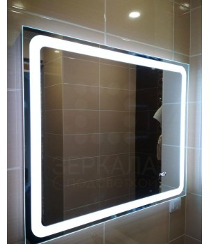 Зеркало для ванной комнаты с LED подсветкой Равенна 120х90 см (1200х900 мм)