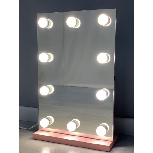 Настольное гримерное зеркало без рамы 60х40